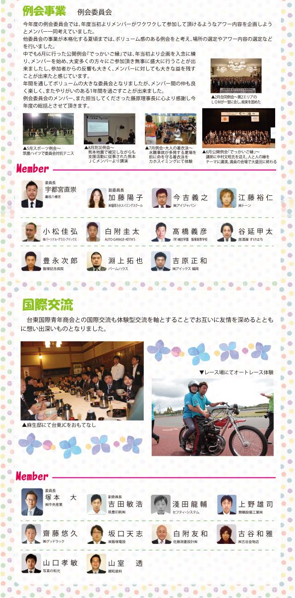 飯塚JC 例会委員会、国際交流